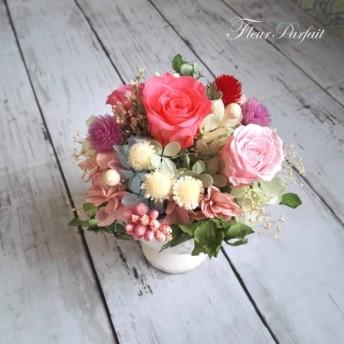 プリンセスピンクのアレンジメント*結婚祝い・誕生日・記念日・プレゼント*【受注製作】