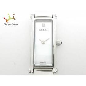 グッチ GUCCI 腕時計 美品 1500L/YA015561 レディース シェルホワイト   スペシャル特価 20190517
