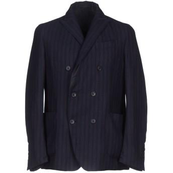 《期間限定セール開催中!》RVR LARDINI メンズ テーラードジャケット ダークブルー 50 ウール 100%