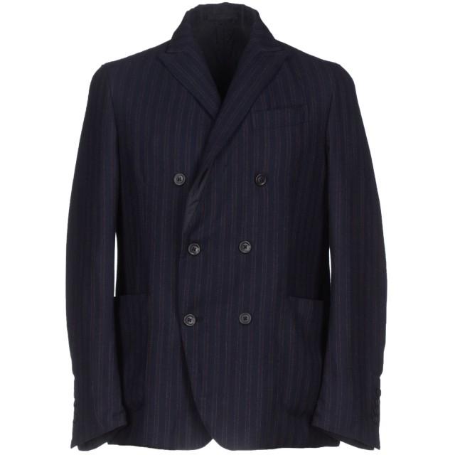 《セール開催中》RVR LARDINI メンズ テーラードジャケット ダークブルー 50 ウール 100%