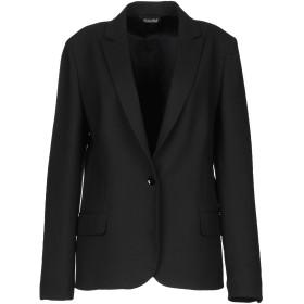 《期間限定セール開催中!》BRIAN DALES レディース テーラードジャケット ブラック 46 ポリエステル 53% / ウール 43% / ポリウレタン 4%