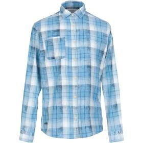 《期間限定セール開催中!》JACK & JONES ORIGINALS メンズ シャツ ブルー M コットン 100%