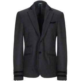 《期間限定セール開催中!》OFFICINA 36 メンズ テーラードジャケット ブラック 48 レーヨン 58% / ウール 30% / ナイロン 12%