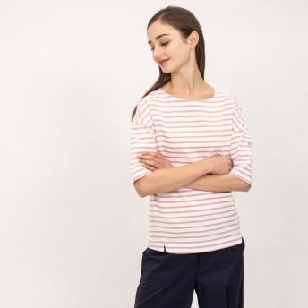 AIGLE レディース レディース 吸水速乾 バスク リラックス 半袖Tシャツ ZTF040J LIGHT POUDRE (112) Tシャツ