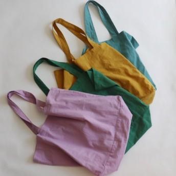 cotton linen bag (sumire)