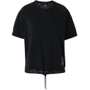 《期間限定セール開催中!》CALVIN KLEIN PERFORMANCE レディース T シャツ ブラック XS ナイロン 76% / ポリウレタン 24% SHORT SLEEVE TEE