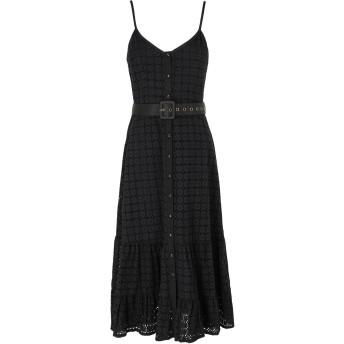 《期間限定セール開催中!》WE ARE KINDRED レディース 7分丈ワンピース・ドレス ブラック 10 コットン 100% SOOKIE MIDI DRESS
