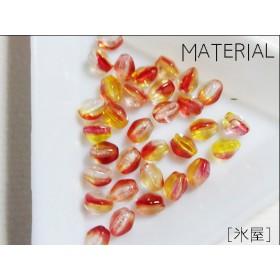 [素材]チェコ;ピンチ5×4mm林檎の香り(12個)