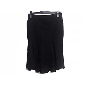 【中古】 シトラスノーツ CITRUS NOTES スカート サイズ36 S レディース 黒 フリル