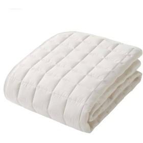 ベッドパッド(ウール) セミダブル オフホワイト ホームコーディ セミダブル