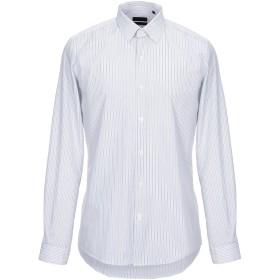 《期間限定セール開催中!》LIU JO MAN メンズ シャツ グレー 38 コットン 100%