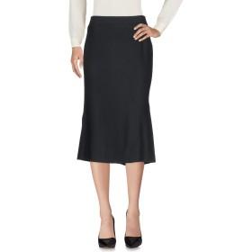《期間限定 セール開催中》MARELLA レディース 7分丈スカート ブラック 42 バージンウール 91% / ナイロン 7% / ポリウレタン 2%