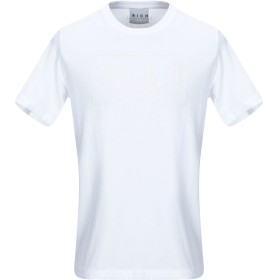 《期間限定セール開催中!》JOHN RICHMOND メンズ T シャツ ホワイト S コットン 100%