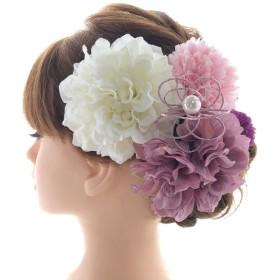 お花の髪飾り 5点セット