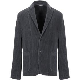 《期間限定セール開催中!》FRADI メンズ テーラードジャケット グレー 48 コットン 100%
