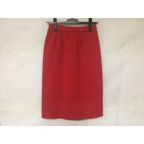 【中古】 イヴサンローラン YvesSaintLaurent スカート サイズ9 M レディース レッド