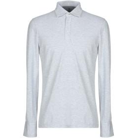 《期間限定セール開催中!》BRUNELLO CUCINELLI メンズ ポロシャツ ライトグレー XS コットン 100%