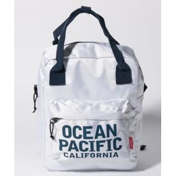 オーシャンパシフィック キッズ バッグ ユニセックス ホワイト F 【Ocean Pacific】