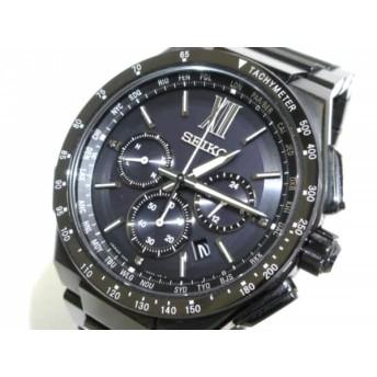【中古】 セイコー SEIKO 腕時計 ブライツ 8B92-0AE0 メンズ 黒