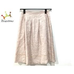 シビラ Sybilla スカート サイズL レディース ピンク シースルー/刺繍   スペシャル特価 20190615
