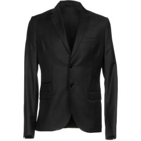 《期間限定セール開催中!》PATRIZIA PEPE メンズ テーラードジャケット ブラック 50 ウール 99% / ポリウレタン 1%