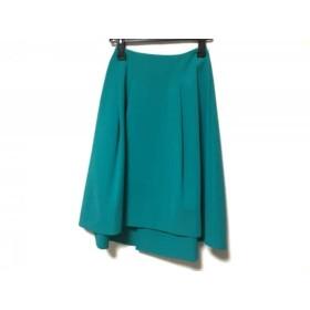 【中古】 ブレンへイム BLENHEIM スカート サイズS レディース グリーン ブルー