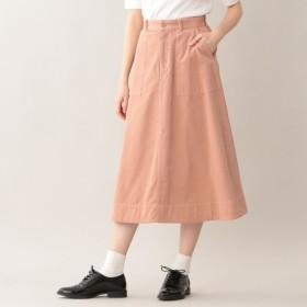 SALE【エムピー ストア(MP STORE)】 サマーコーデュロイスカート ピンク