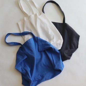 cotton linen bag (royal blue)