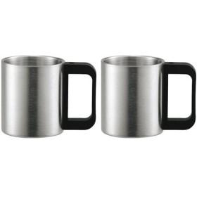 カクセー マイワン マグカップ 2個 二重構造 MY1-232