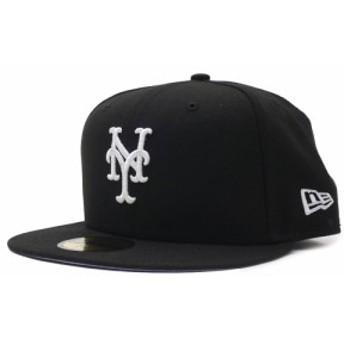 ニューエラ NEW ERA nenym162 ニューヨークメッツ 59FIFTY CAP キャップ 帽子 BLACK ブラック 黒 メンズ 620007716031 ヘッドウェア