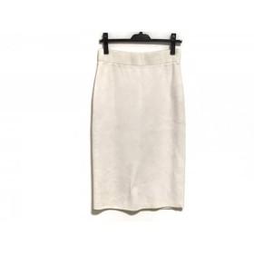 【中古】 ハイク HYKE ロングスカート サイズ2 M レディース アイボリー シルク混