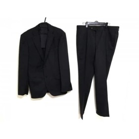 【中古】 ビームスハート BEAMSHEART シングルスーツ サイズ52 メンズ ダークグレー 黒