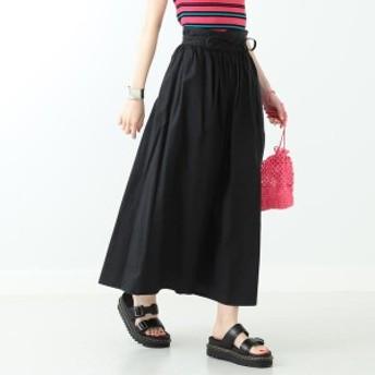 MARMARI マルマリ コットンリネン ギャザースカート