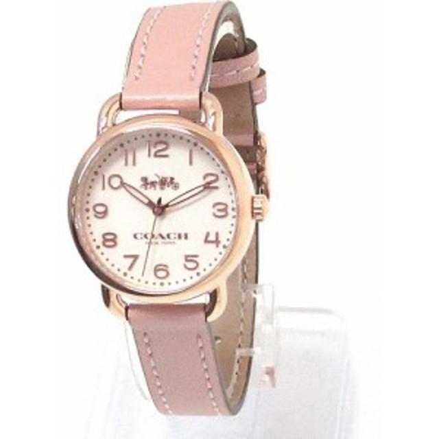 c594c5aa7de3 コーチ 時計 レディース COACH アウトレット デランシー レディース ウォッチ ゴールド/ピンク 腕時計 14502750