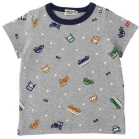 [マルイ]【セール】Tシャツ(デイリーシリーズ / クルマ・マリンボーダー / 男児)/ミキハウス ホットビスケッツ(MIKIHOUSE HOT BISCUITS)