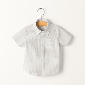 [マルイ]【セール】SHIPS KIDS:クールマックス サッカー ストライプ シャツ(80-90cm)/シップス キッズ(SHIPS KIDS)