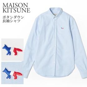 メゾンキツネ 長袖シャツ MAISON KITSUNE AM00400WC0003