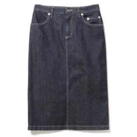 SIVIGLIA / デニム リジット スカート レディース 膝丈スカート INDIGO 25