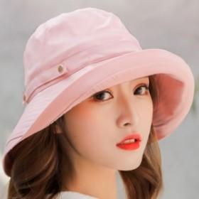 帽子 レディース 紫外線対策  旅行用 日よけ 春夏季 女優帽 小顔効果抜群 熱中症予防 つば広 おしゃれ 可愛い ハット