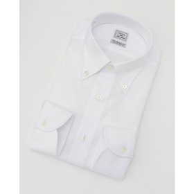 【SALE(伊勢丹)】<CHOYAシャツメーカー/CHOYA SHIRT MAKER> 長袖白ドビーワイシャツ(CID311-201)(MO021N0MO00000FO7) 201シロ 【三越・伊勢丹/公式】
