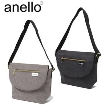 anello GRANDE アネログランデ クラシック杢調ポリエステル メッセンジャーバッグS GU-A0915