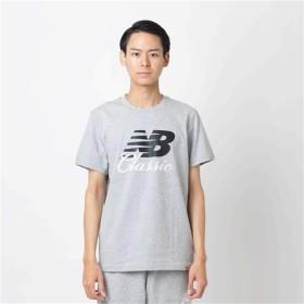 (NB公式) 【40%OFF】 ≪ログイン購入で最大8%ポイント還元≫ 【SALE】エッセンシャルブリッジTシャツ (AG アスレチックグレー) 男性/メンズ/mens ニューバランス newbalance セール