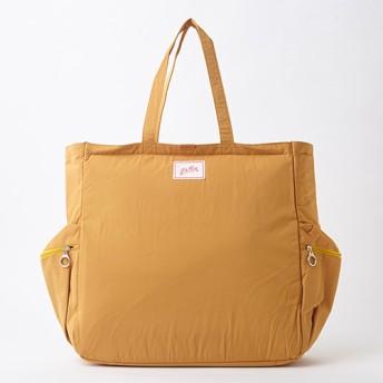 SALE 【L & Kin】Nylon Tote1161-41022 Mustard(レディース)