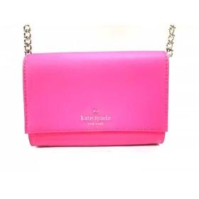 【中古】 ケイトスペード ショルダーバッグ 美品 PWRU4450 ピンク ミニサイズ/チェーンショルダー