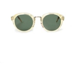 N.HOOLYWOOD × ayame / SUNGLASSES メンズ サングラス BEIGE/GREEN ONE SIZE