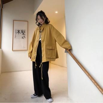 ジャケット・ブルゾン - argo-tokyo 【ME LOVE】レディースファッション通販/ 韓国ファッション/春/ ブルゾン/定番/カジュアル/春夏物/アウター/シンプル/オーバージャケット