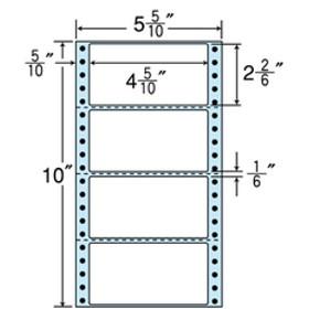 シヤチハタ連続ラベル 剥離紙ブルータイプ (500折×2)F010541-NX05EB