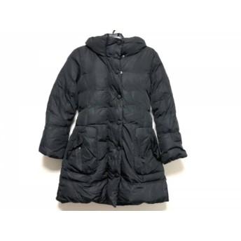 【中古】 マックスマーラウィークエンド ダウンコート サイズ36 S レディース 黒 ジップアップ/冬物
