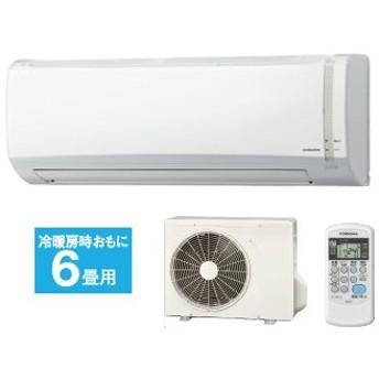 CORONA/コロナ CSH-N2219R(W)ルームエアコン Nシリーズ ホワイト 【おもに6畳用】