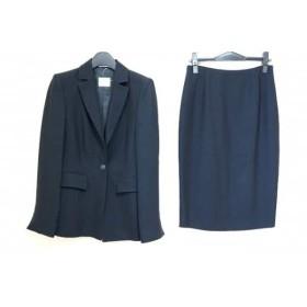 【中古】 ジャンフランコフェレストゥーディオ スカートスーツ サイズ40 M レディース 黒